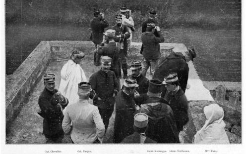 En 1912 lors de l'insurrection du Fez au Maroc.