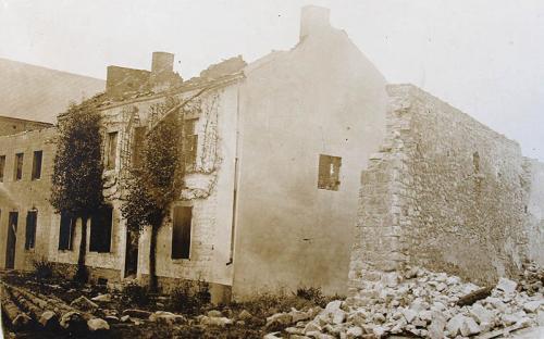 Hanzinne maison Auguste Hankart, près de l'église